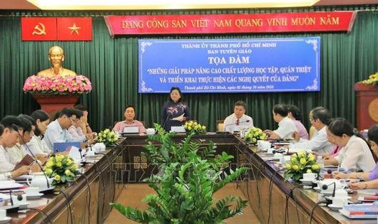 Người đứng đầu cấp ủy có vai trò quan trọng trong triển khai các nghị quyết của Đảng