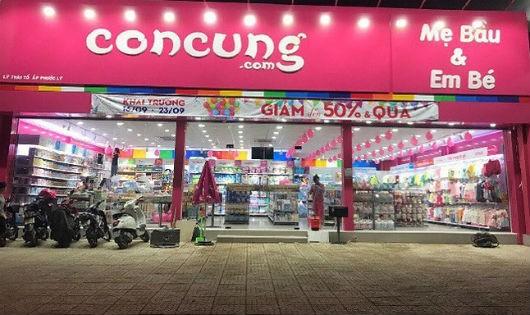 Một cửa hàng của công ty CP Con Cưng