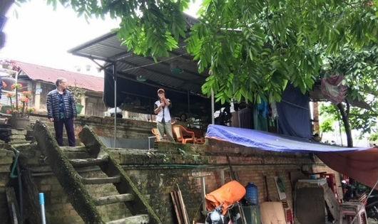Người dân sống ở khu vực I di tích Kinh thành Huế