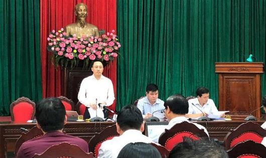 Lãnh đạo Cục Thuế Hà Nội thông tin tình hình thu ngân sách