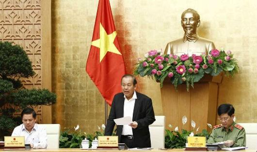 Phó Thủ tướng Thường trực yêu cầu hạn chế tác động tiêu cực của xe ôm công nghệ