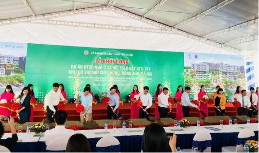Hà Nội khởi công dự án nhà ở xã hội cho trên 5.330 người
