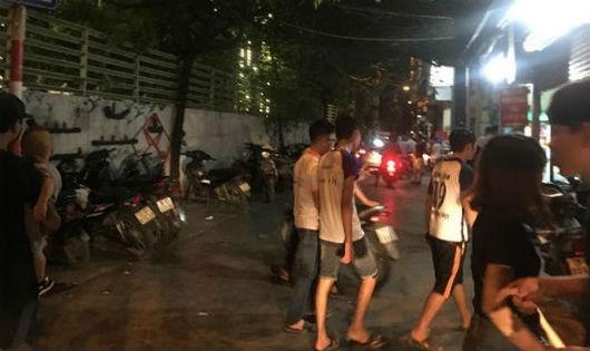 Bãi xe đầu ngõ 72 Nguyễn Trãi