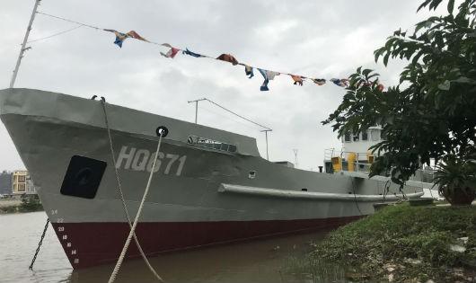 Tàu HQ 671 sắp được đưa vào bảo tàng lịch sử