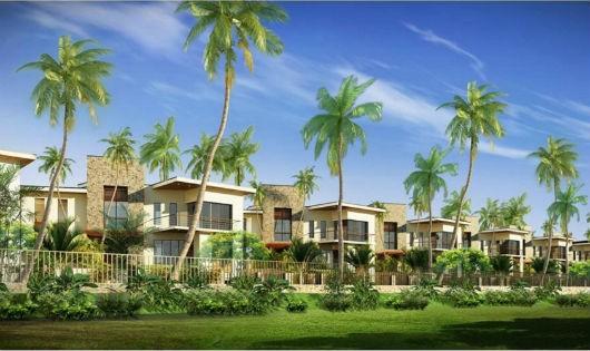 Phối cảnh Dự án Khu du lịch Holiday Inn Hội An Resort (ảnh trên trang Web giới thiệu của Dự án)