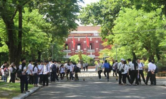 Trường THPT Chuyên Quốc học Huế có 35 giáo viên được thăng hạng giáo viên bậc III lên bậc II.