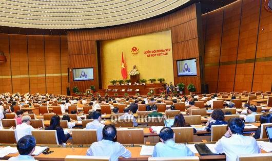 Toàn cảnh kỳ họp thứ 6, Quốc hội khóa XIV