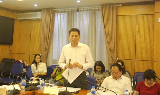 Phó Tổng cục trưởng Tổng cục THADS Nguyễn Văn Lực cho biết còn nhiều khó khăn trong  thi hành phần tài sản các đại án.