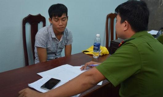 Trần Văn Quang tại cơ quan điều tra