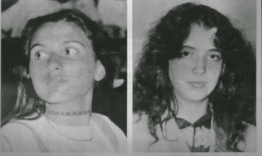 Mirella Grigori và Emanuela Orlandi.