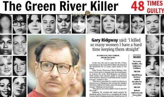 Gary Leon Ridgway và một số nạn nhân