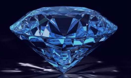 Viên kim cương xanh- ảnh minh họa.