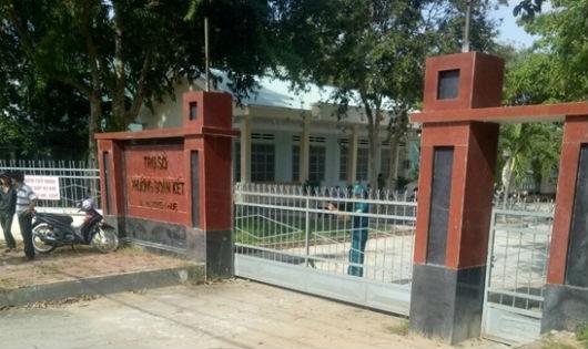 Trụ sở phường Đoàn Kết, thị xã Ayun Pa, Gia Lai, hiện trường xảy ra vụ án.