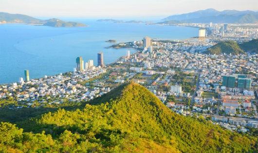 Thành phố biển Nha Trang. Ảnh báo Tuổi trẻ