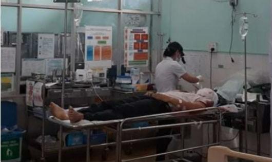Bệnh nhân Hiếu được cấp cứu tại Bệnh viện Đa khoa tỉnh Gia Lai