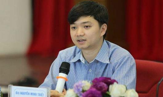 Phó Chủ tịch thường trực Hội SVVN Nguyễn Minh Triết