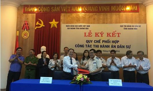 Tăng cường công tác phối hợp liên ngành là giải pháp được Cục THADS Khánh Hòa chú trọng để nâng cao hiệu quả công tác.