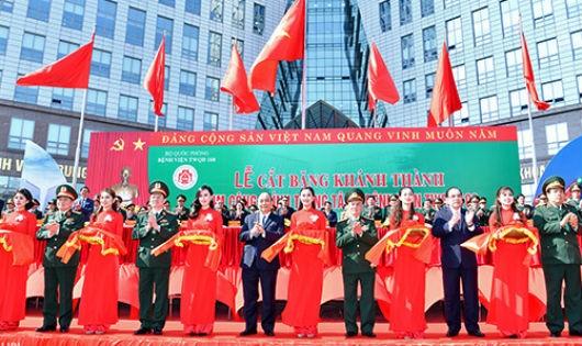 Thủ tướng Nguyễn Xuân Phúc: Bệnh viện 108 phải hướng tới tiêu chuẩn khu vực và quốc tế