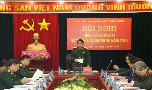 Thượng tướng Lương Cường chủ trì Hội nghị