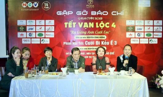 Hãng sản xuất phim NCV họp báo về chương trình Tết Vạn Lộc 4.
