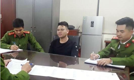 Cơ quan Công an lấy lời khai của Nguyễn Văn Năm