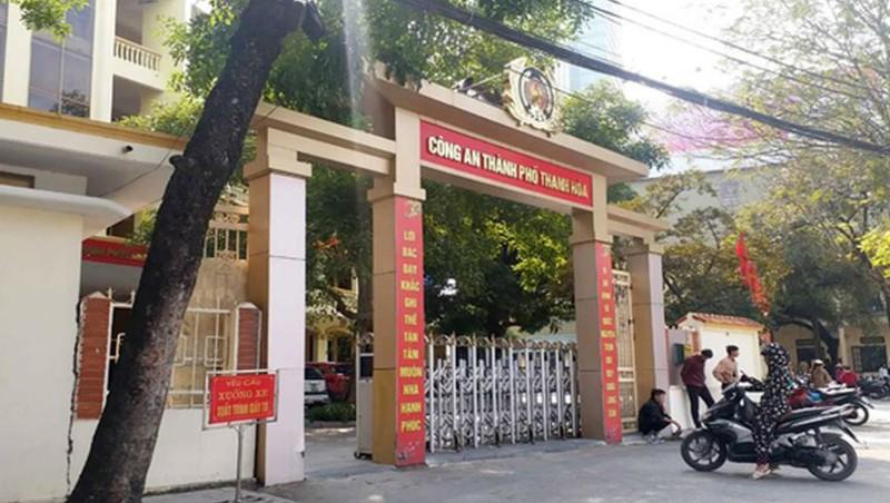 Trụ sở công an thành phố Thanh Hóa