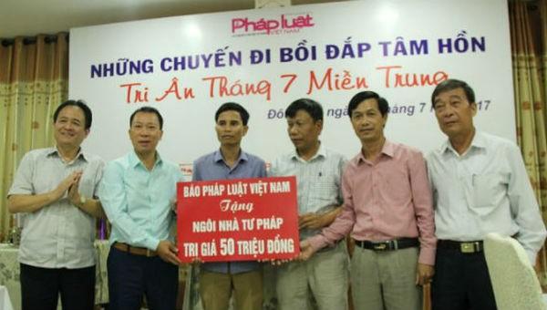 Báo PLVN ra mắt VPĐD khu vực Bình Trị Thiên