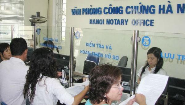 Giao dịch tại Văn phòng Công chứng Hà Nội