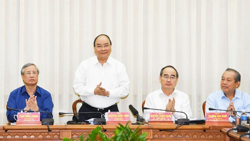 Thủ tướng: 'TP Hồ Chí Minh vì cả nước, cả nước vì TP Hồ Chí Minh'