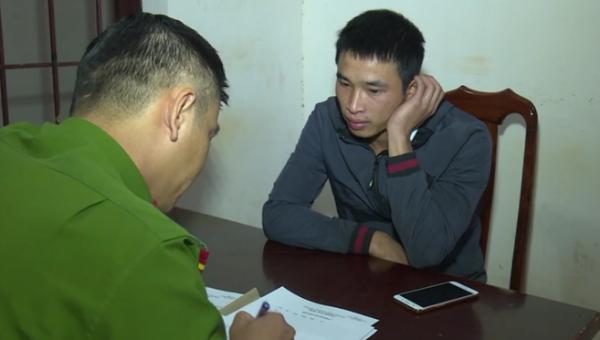 Nguyễn Huy Thái tại cơ quan điều tra