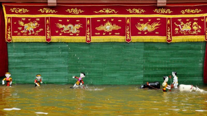 """Múa rối nước - """"kho vàng"""" ngàn năm tuổi"""