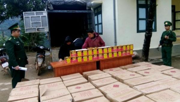 Kiểm tra công tác chống buôn lậu tại Bộ đội Biên phòng Cao Bằng
