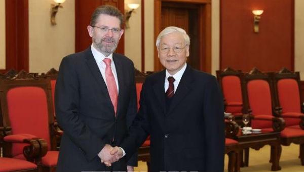 Tổng Bí thư, Chủ tịch nước: Việt Nam sẽ hợp tác chặt chẽ với Australia triển khai Hiệp định CPTPP