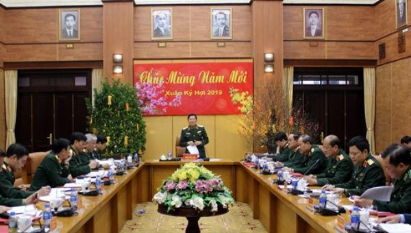 Bộ Quốc phòng triển khai nhiệm vụ trọng tâm tháng 2/2019