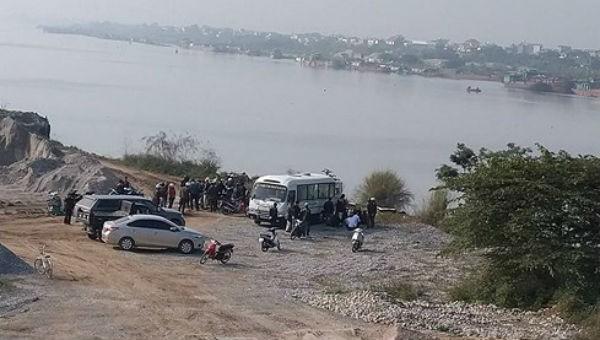 Khu vực phát hiện thi thể nạn nhân
