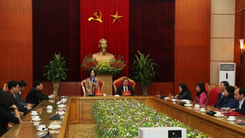 Trưởng Ban Dân vận Trung ương Trương Thị Mai thăm, làm việc với tỉnh Phú Thọ