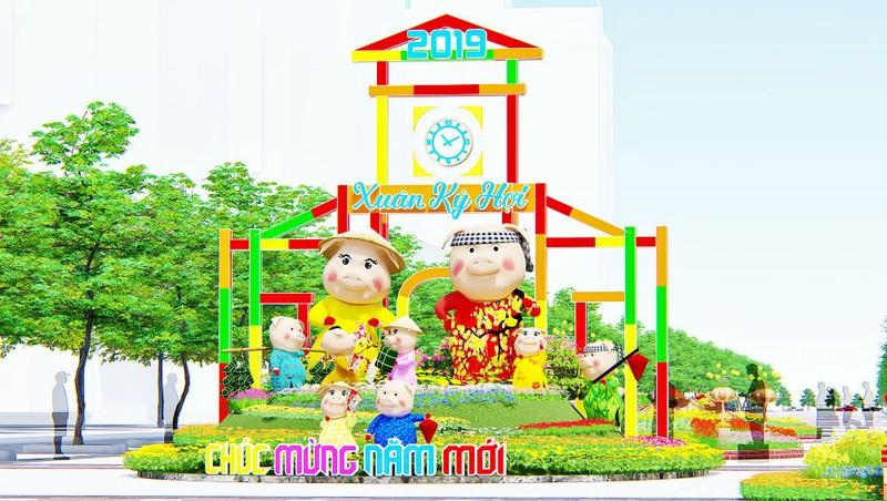Sắc hoa Xuân Sài Gòn