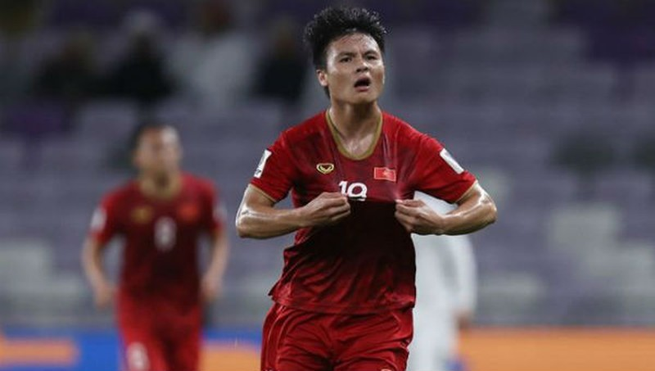 Siêu phẩm sút phạt của Quang Hải giành bàn thắng đẹp nhất VCK Asian Cup 2019