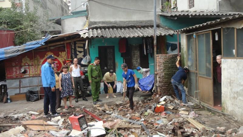 Hoàn thành xuất sắc giải tỏa mặt bằng UBND phường Trương Định được đề xuất khen thưởng đột xuất