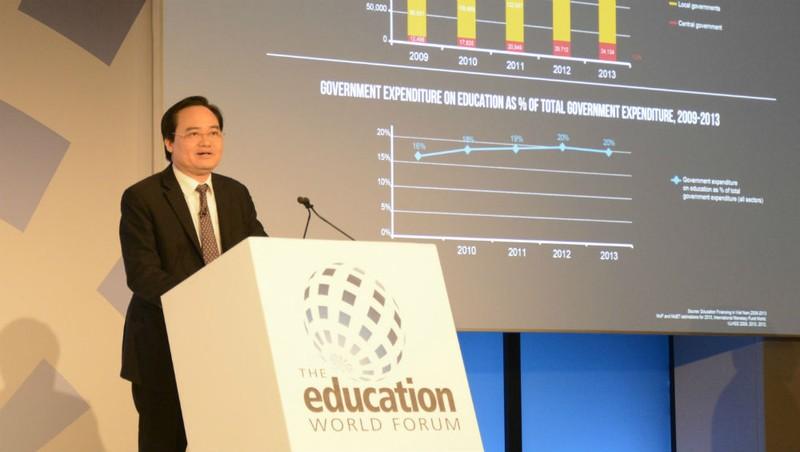 Bộ trưởng Phùng Xuân Nhạ: Số liệu chứng minh sự quan tâm của Việt Nam đến giáo dục