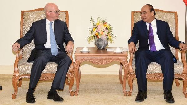 Thủ tướng tiếp Trưởng Đại diện thường trú của Văn phòng IMF tại Việt Nam