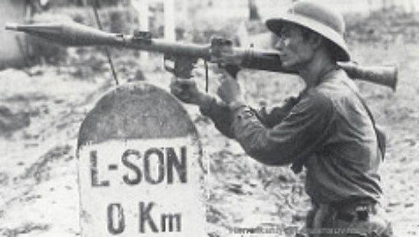 Chiến sĩ trên mặt trận biên giới phía Bắc