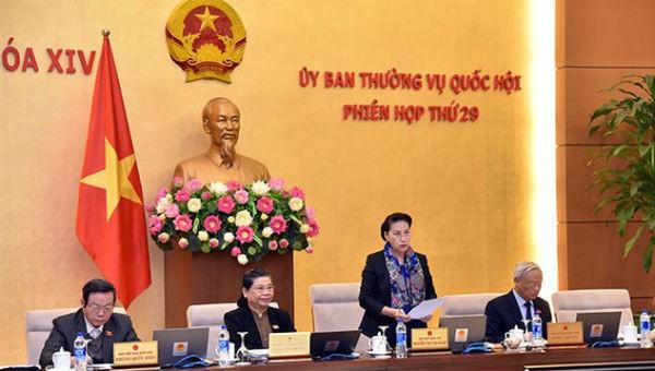 Tuần này, Ủy ban Thường vụ Quốc hội sẽ họp Phiên thứ 31