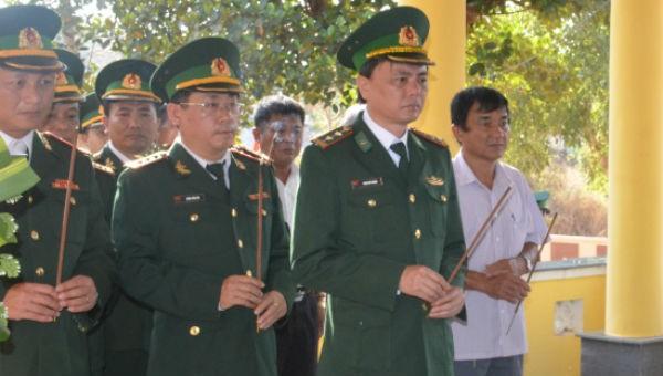 Gia Lai khánh thành tôn tạo, nâng cấp Bia tưởng niệm các liệt sỹ Bộ đội Biên phòng