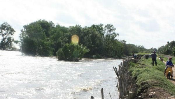 Cảnh báo vùng Đồng bằng sông Cửu Long có thể chìm hoàn toàn