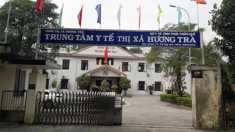 Trung tâm Y tế thị xã Hương Trà