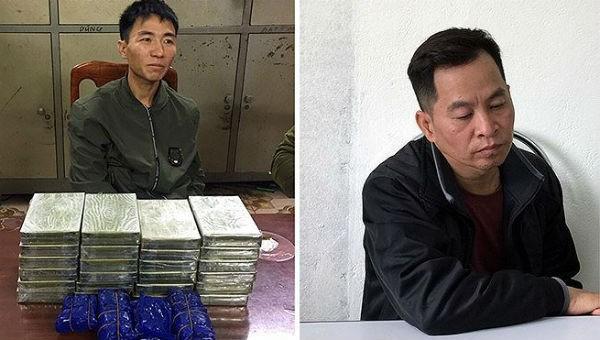 Bắt khẩn cấp 2 kẻ mua bán 24 bánh heroin và 6.000 viên ma túy