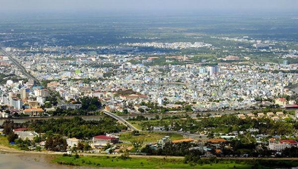 Một góc toàn cảnh Thành phố Cần Thơ