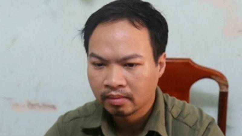 Cao Việt Hòa tại cơ quan điều tra