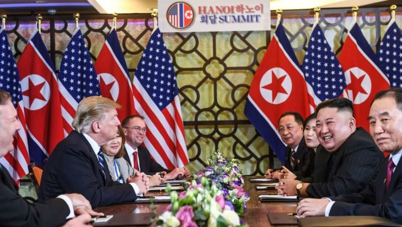 Phái đoàn Mỹ - Triều Tiên tại Hội nghị.